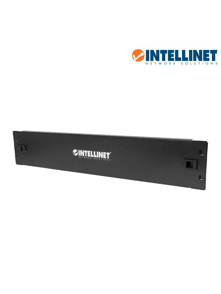 INTELLINET 714341 - Panel Tapa Ciega / 2U / Sin Herramienta / Metal