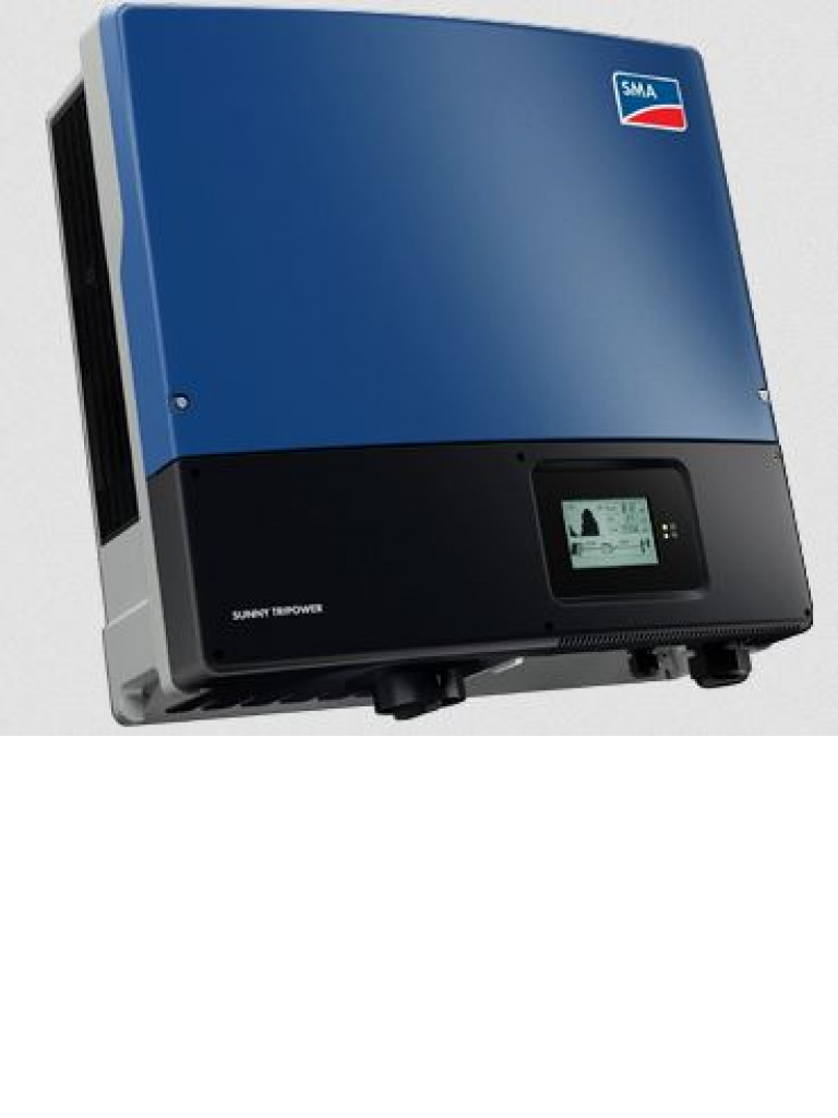 SMA STP15000TLUS10 - Inversor SMA SUNNY TRIPOWER de 15KW 3 fases a 480 / 277 V I NCL. WEBCONNECT
