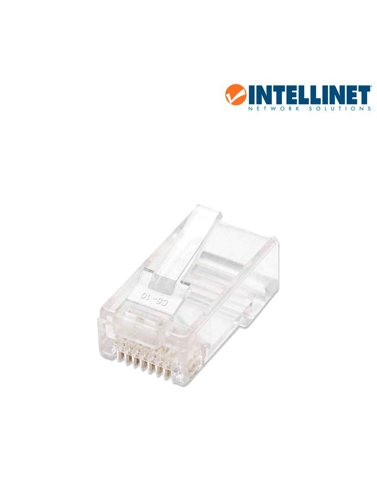 INTELLINET 502399 - PLUG RJ45 CAT 5e / UTP SOLIDO / 100 Pzas