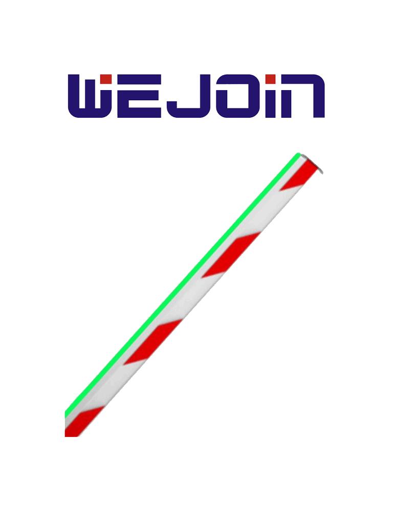 WEJOIN WJLBM6 - Brazo recto de 6 metros  LED / Octagonal / Compatible con TVB150040 / TVB150041