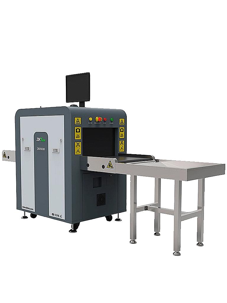 ZKTECO ZKX5030A - Maquina de  Rayos X para equipaje / Energía simple / Túnel de  50 x 30 cm