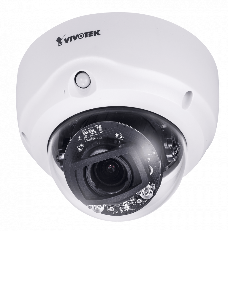 VIVOTEK FD9167HT - Camara IP domo varifocal interior / 2  MP /Lente Varifocal 2.8~12mm /WDR Pro / Smart ir 30  Mts / Smart stream iii / SNV / PIR / Audio