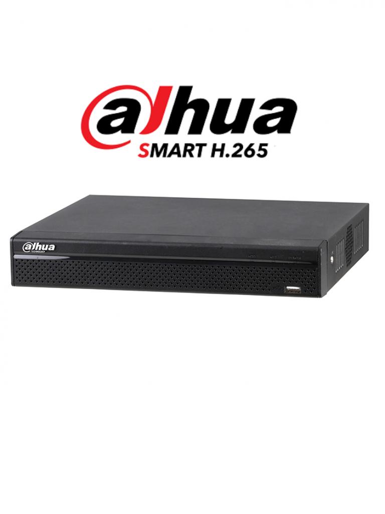 DAHUA XVR4116HSX - DVR 16 Canales  HDCVI pentahibrido  1080p  Lite / H265 /  HDMI / VGA / 2 Ch IP adicionales 16+2 / 1 SATA Hasta 10TB / P2P / Smart audio  HDCVI/ #NuevoPrecio