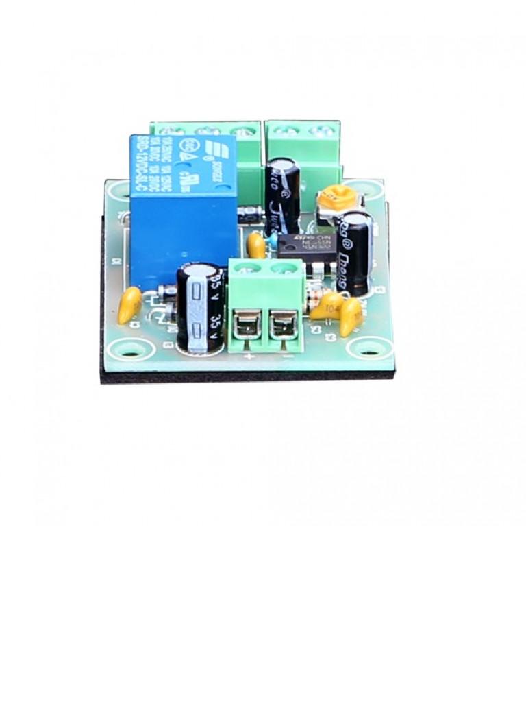YLI PCB505 - Modulo de retardo de tiempo / Salidas  NC y no / Conexion de boton / Voltaje 12 VDC / Ajustable 1 a 30 segundos