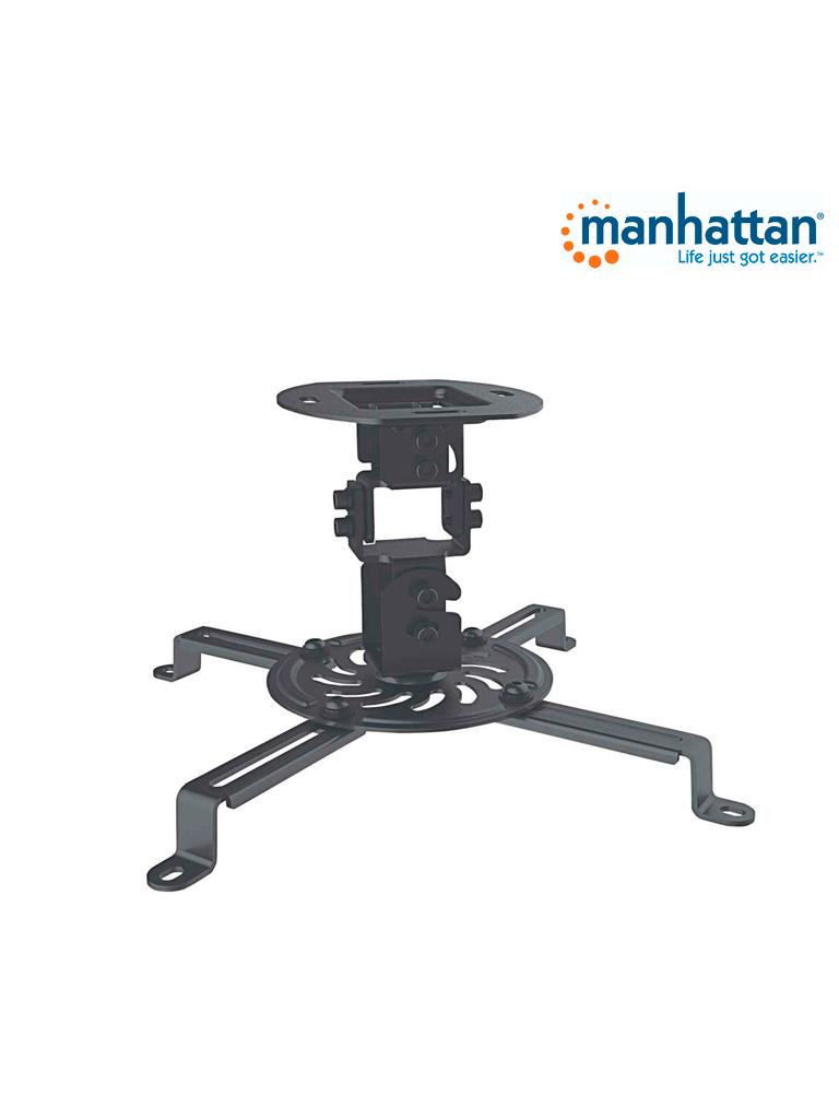 MANHATTAN 461184 - Soporte Proyector / para Techo / Básico / 13.5kg / Negro