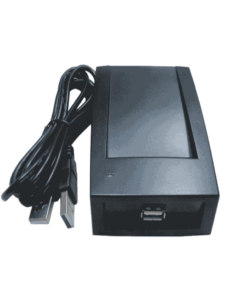 ZKTECO CR60W - Lector de Tarjetas Mifare Cardissuer / Conectividad  USB para Registrar Huespedes en Soluciónes Hoteleras