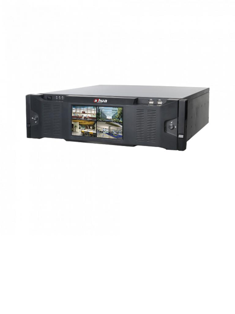 DAHUA IVSS7016DR4T - Servidor de reconocimiento facial / 256 Canales IP / 16 De reconocimiento facial / Rendimiento 512 Mbps / 16 SATA 10TB / Memoria de 16GB / Sobre pedido