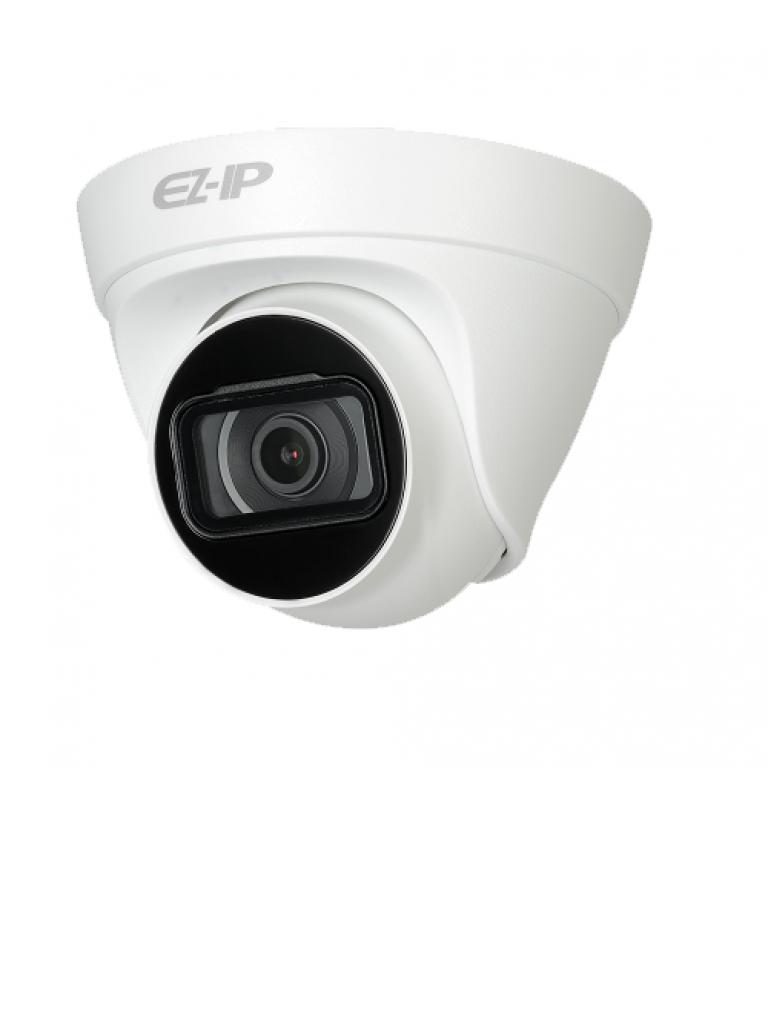 DAHUA EZIP T1B4036 - Camara IP domo 4  MP / H265+ / H265 / Lente 3.6 mm / Angulo de vision 95 grados / Luz ir 30 metros / IP67 /  PoE / DWDR / HLC / ONVIF/ #NuevoPrecio