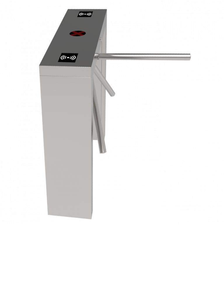 ZKTECO TS3000 - Torniquete Simple de Acceso Peatonal / Sin Accesorios / Función Semiautomático / Sobre Pedido