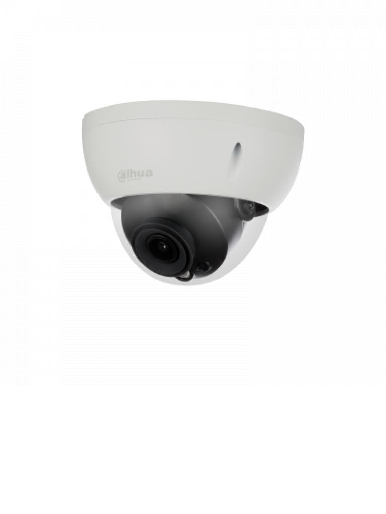 DAHUA HDBW2802R36 - Camara domo  HDCVI 8 MP STARLIGHT / Lente 3.6 mm / Angulo de vision 87 grados / 0.005 Lux color / WDR / Smart ir 30 metros / IP67 / IK10