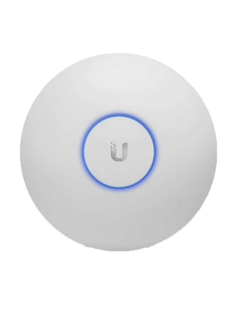 UBIQUITI UAPACLR - Access Point Inalámbrico de largo alcance UniFi AC / Doble Banda 802.11ac / Interior / MIMO 2x2 / 24 dBm / Hasta 1317 Mbps / Incluye Inyector PoE