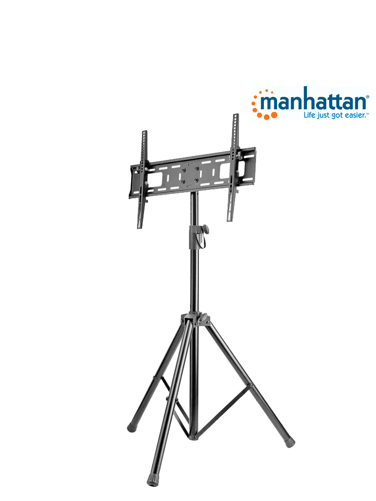 MANHATTAN 461412- Soporte TV / con tripode / 35kg / 37pulg a 70pulg /Ajuste Vertical