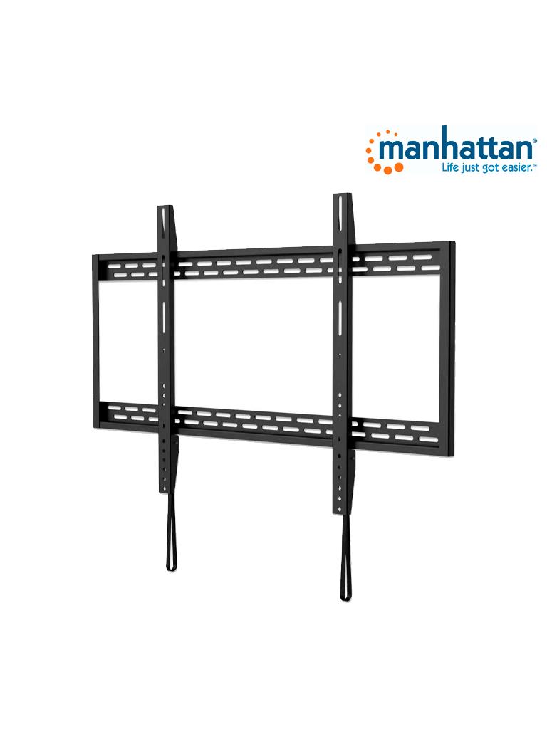 MANHATTAN 461993 - Soporte TV / para pared / 100kg / 60pulg a 100pulg / Fijo