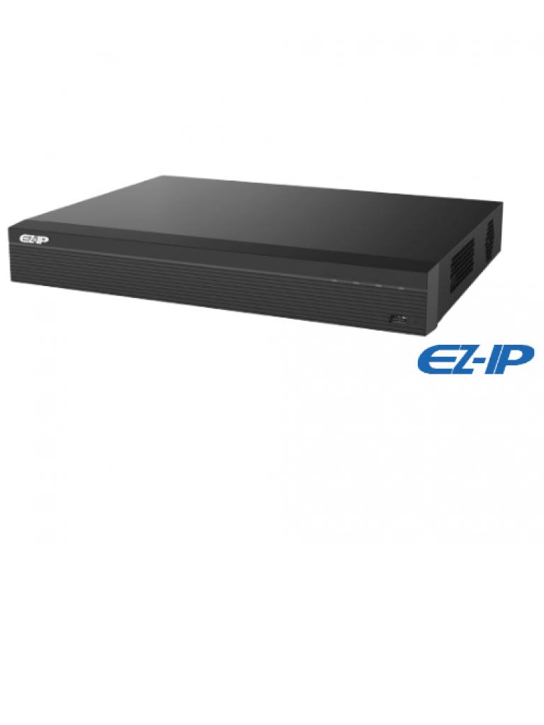 DAHUA EZIP NVR2B16 - NVR 16 Canales IP / H265+ & H264+ / Rendimiento 80 Mbps /  HDMI / VGA / 2 Puerto SATA 6TB / PROMOTCD