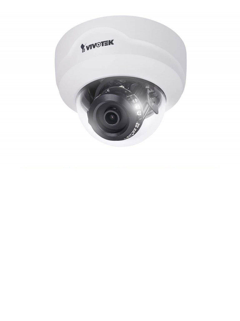 VIVOTEK FD8179H - Camara IP domo interior 4 MP / Lente fijo 2.8 mm / Smart ir 30M / WDR Pro / Smart stream ii / Audio / 3DNR / MICRO SD