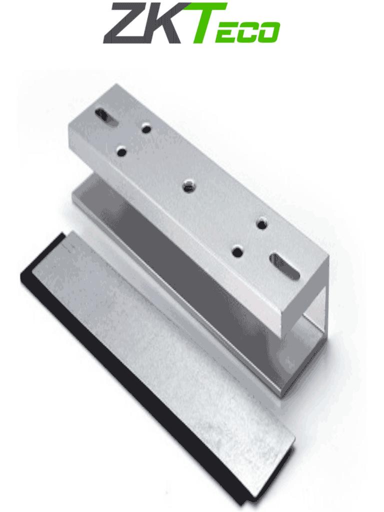 ZKTECO LMB280U - Soporte en U para instalación de cerradura magnética en puertas de vidrio sin marco compatible con cerradura magnética con clave ZKT0850002 / #NuevoZK
