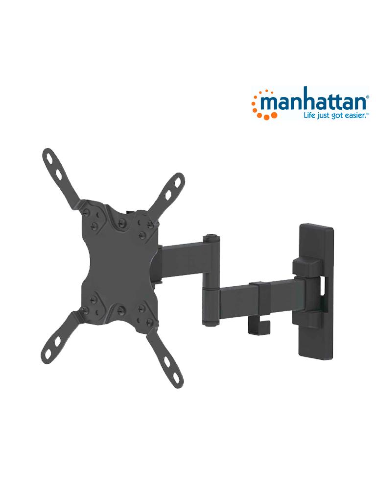 MANHATTAN 461405 - Soporte TV / para pared / 20kg / 13 a 42pulg / Articulado doble
