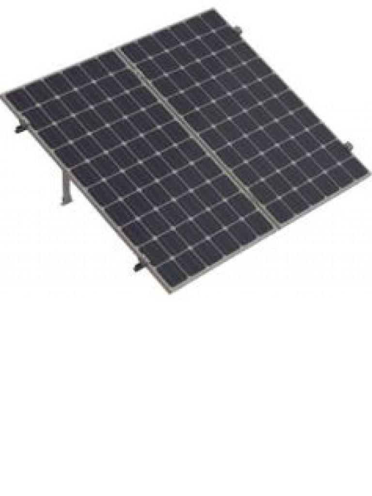 PV SRI230 - Kit para sistema solar con inclinacion de 15º a 30º en vertical / Para 2 paneles no incluidos