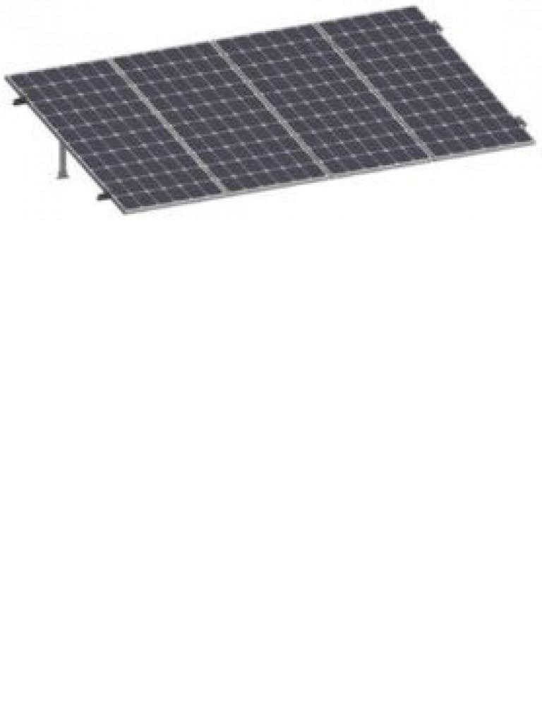PV SRI430 - Kit para sistema solar con inclinacion de 15º a 30º en vertical / Para 4 paneles no incluidos