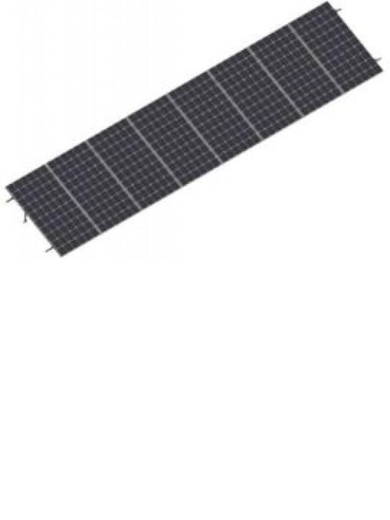 PV SRI830 - Kit para sistema solar con inclinacion de 15º a 30º en vertical / Para 8 paneles no incluidos