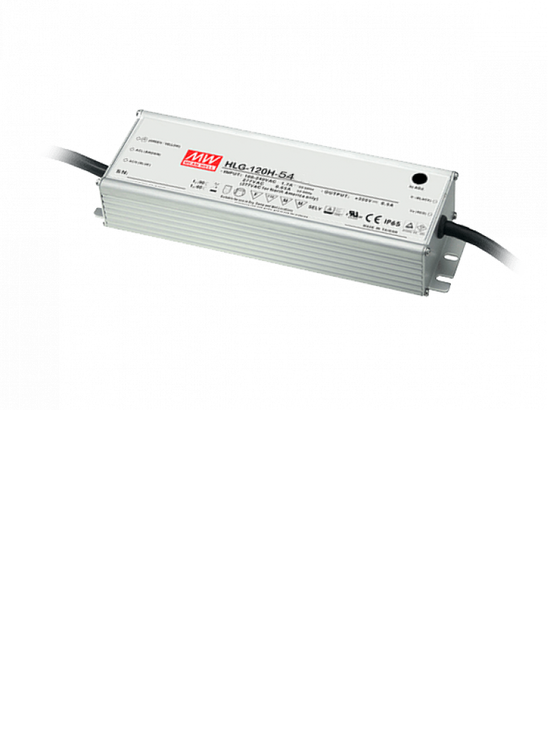 VIVOTEK HLG120H24 - FUENTE DE PODER PARA EXTERIOR/ 115/230VAC DE ENTRADA/ 24VDC A 5A DE SALIDA/ IP66/METALICO/
