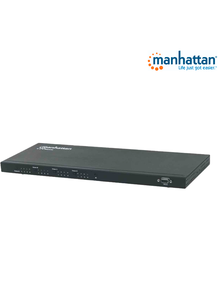 MANHATTAN 207904 - Video Splitter / HDMI 1080p / 4 in : 4 out (Matriz)