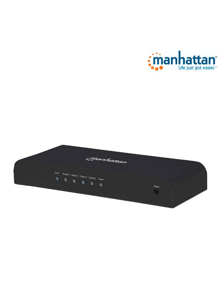 MANHATTAN 207515 - Video Splitter / HDMI / 4k@30Hz / 1 in:4 out
