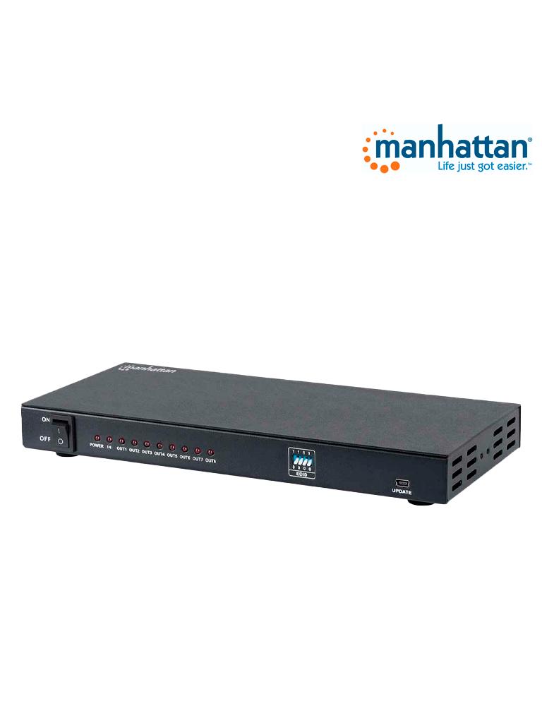 MANHATTAN 207560 - Video Splitter / HDMI / 4k@30Hz / 1 in:8 out