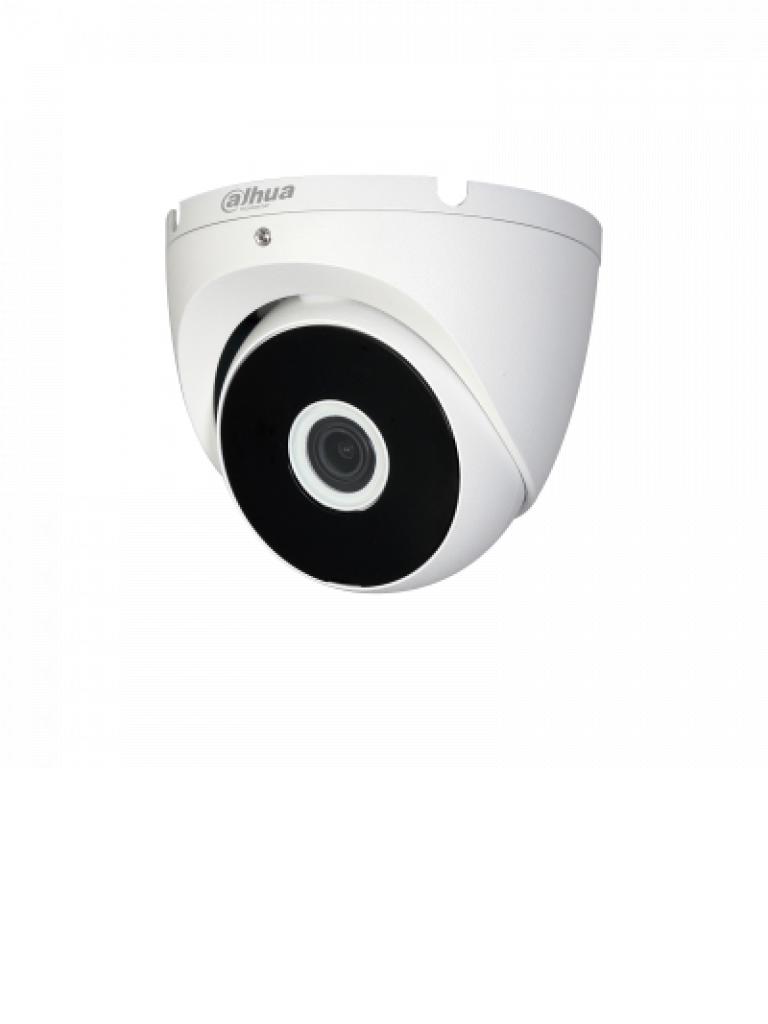 DAHUA COOPER T2A21 - Camara domo  HDCVI  1080p /  720p / TVI / A HD / CVBS / Lente 3.6 mm / Smart ir 20  Mts / IP67 / Apertura lente 93 grados / Metalica/ PROMCDH/ #NuevoPrecio