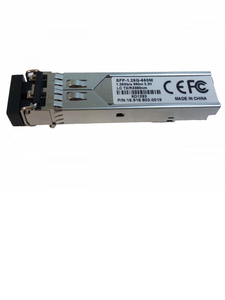 UTEPO SFP125G550M - Transceptor fibra PTICA SFP multimodo / Conector LC / Velocidad 1250 Mbps / Hasta 550M de CONEXIN