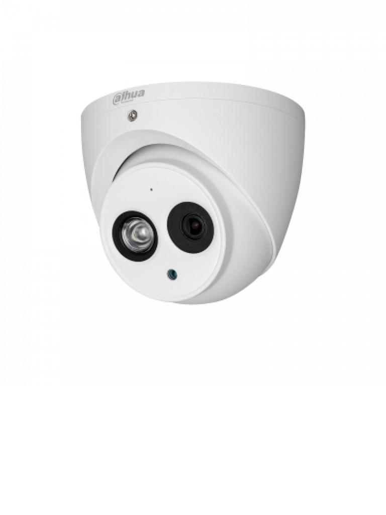 DAHUA HDAW1200EMA36 - Camara domo  HDCVI  1080p / TVI / A HD / CVBS / Audio integrado / Lente 3.6 mm / Vision 90 grados / Smart ir 50  Mts / IP67