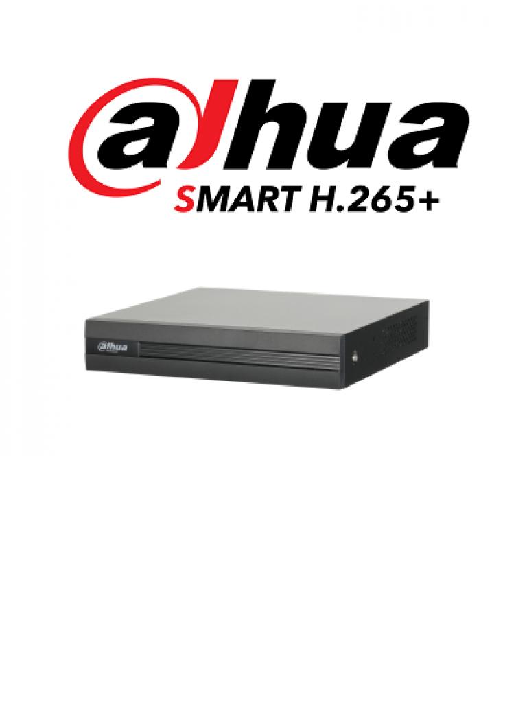DAHUA COOPER XVR1B08H - DVR 8 Canales Pentahibrido 4 Megapixeles Lite/ 1080p/ 720p/ H265+/ 4 Ch IP adicionales 8+4/ IVS / 1 Bahia de Disco Duro de Hasta 6TB/ P2P/ Smart Audio