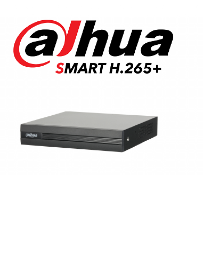 DAHUA COOPER XVR1B04H - DVR 4 Canales  HDCVI pentahibrido  1080p / 4 MP  Lite /  720p / H265+ / 2 Ch IP adicionales 4+2 / IVS / SATA Hasta 6TB / P2P