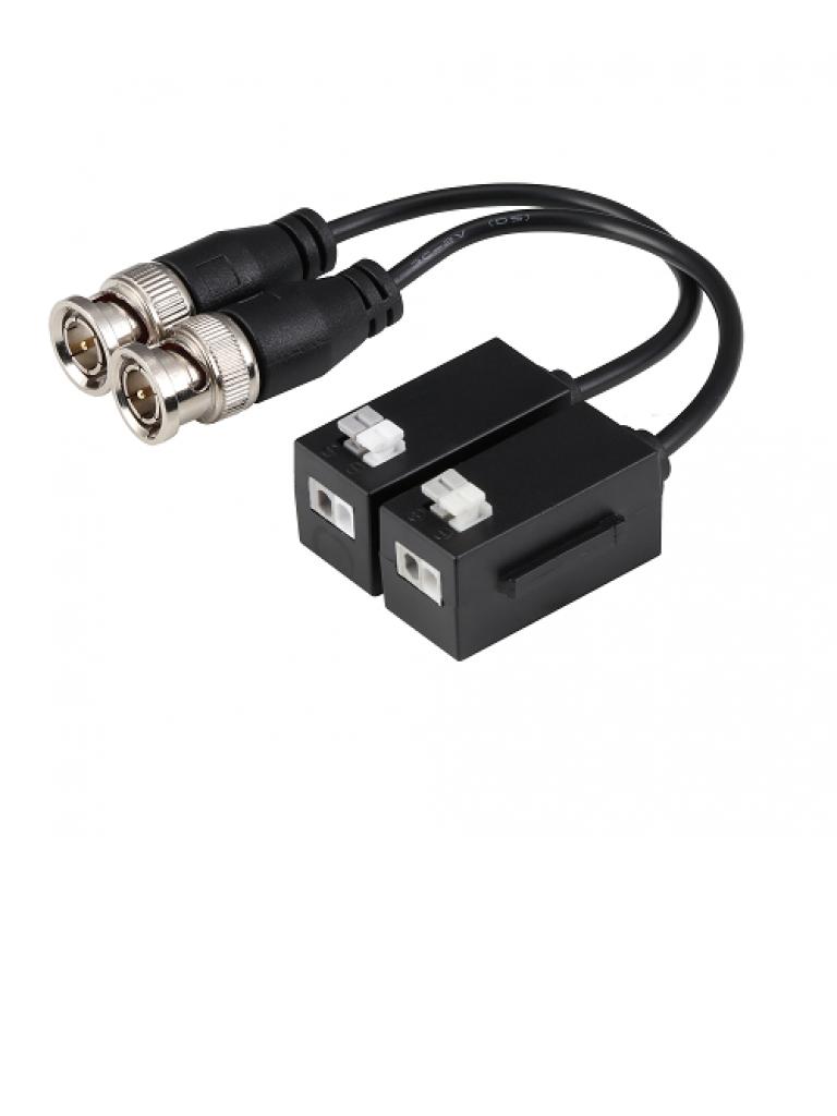 DAHUA PFM8004K - Par de transceptores pasivos  HDCVI 4K / 6 MP / 4 MP / Transmision de video 200 metros / 250 Metros  1080p / 400 Metros  720p