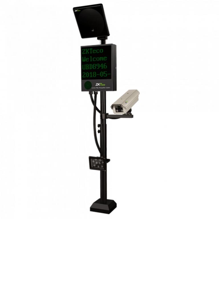 ZKTECO LPRS2000 - Sistema de Reconocimiento Placas / GREEN LABEL / UHF / LPR / Luz  LED Integrada / 99% de Efectividad *ZBH*