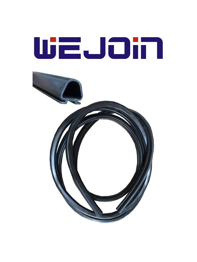 WEJOIN WJBBR01 - Caucho negro para protección contra impactos 3 metros de longitud / Compatible con brazos de la marca Wejoin