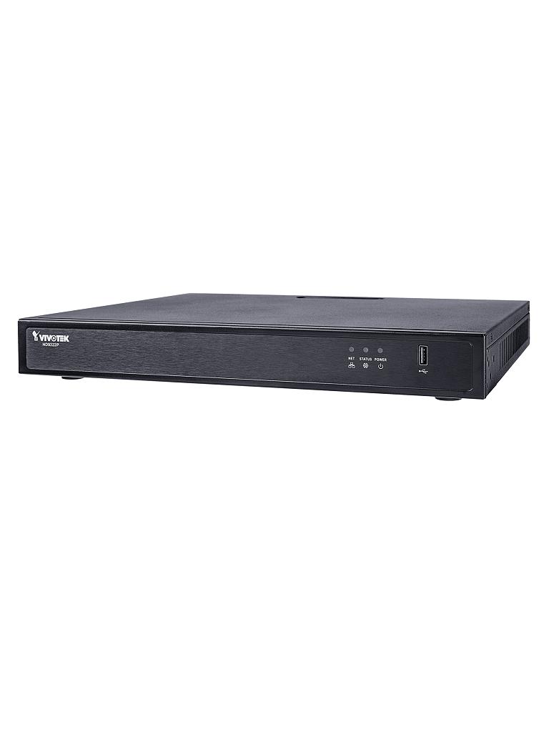 VIVOTEK ND9322P - NVR/ 8 CANALES POE/ AUTO SETUP/ HASTA 2 HDD/ SALIDA HDMI/ PLUG & PLAY/ H264&H265