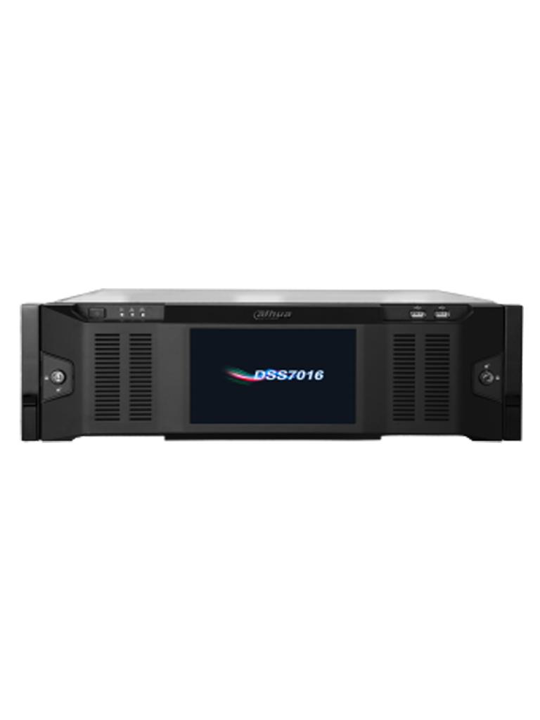 DAHUA DSS7016D - Servidor de administracion de dispositivos / Compatible con DVRS moviles / 2000 Canales / 500 Dispositivos / 15 Discos duros / RA ID