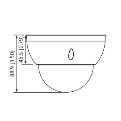Dahua-HDBW3441R-ZS -Cámara-Domo-4Mp-WizSense-Lente-Motorizado-H.265plus-Micro-SD-IP67-IK10-PoE-dimensiones