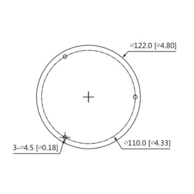 Dahua-HDBW3441R-ZS -Cámara-Domo-4Mp-WizSense-Lente-Motorizado-H.265plus-Micro-SD-IP67-IK10-PoE-dimensiones2