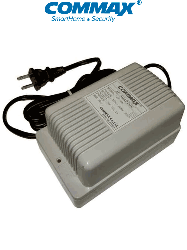 COMMAX RF2A - Fuente de alimentación 24V DC 1A distribuidores de piso y edificio de la línea departamental de videoporteros Modum y de audio #Audiogate/ #Modum
