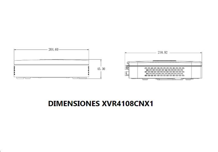 xvr4108cnx1DIMENSIONESb
