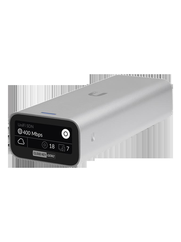 UBIQUITI UCKG2 - Controlador UniFi Cloud Key / Procesador de 8 núcleos / 2GB RAM / 32GB Almacenamiento / Administración unificada para 50 equipos UniFi
