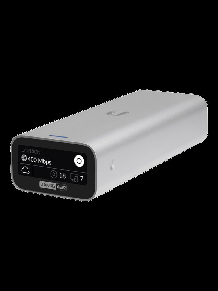 UBIQUITI UCKG2- CONTROLADOR UNIFI CLOUD KEY/ PROCESADOR 8-CORE/ 2GB RAM/ 32GB ALMACENAMIENTO/ ADMINISTRACION UNIFICADA PARA 50 EQUIPOS UNIFI