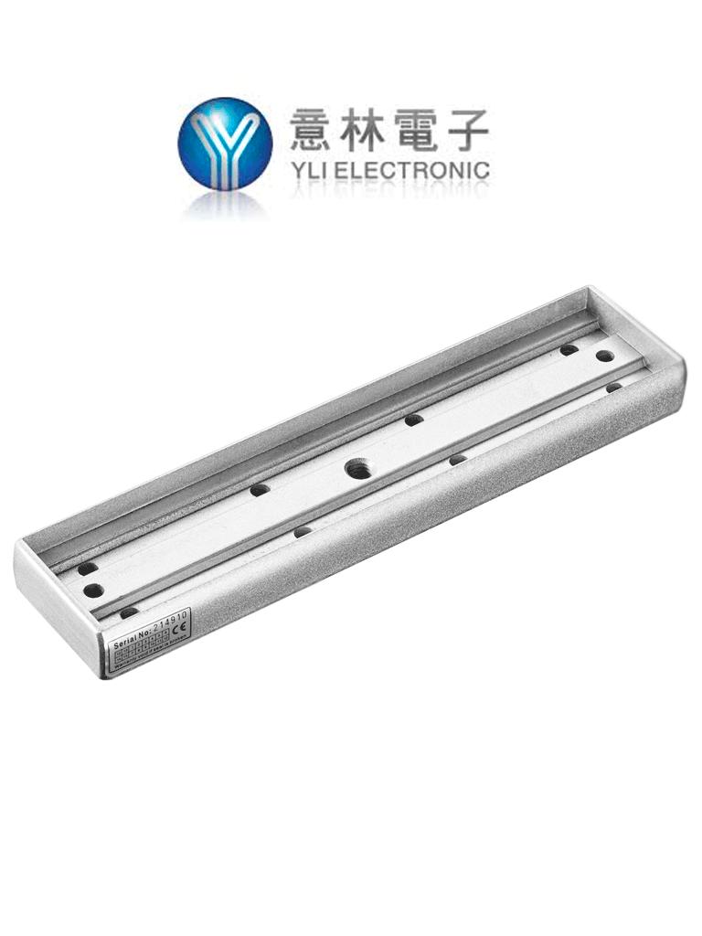 YLI MBK2801N - Soporte de fijación para instalación de chapas magnéticas en puertas de madera y metal modelos compatibles YM280N y YM280NLED/ #OfertasAAA