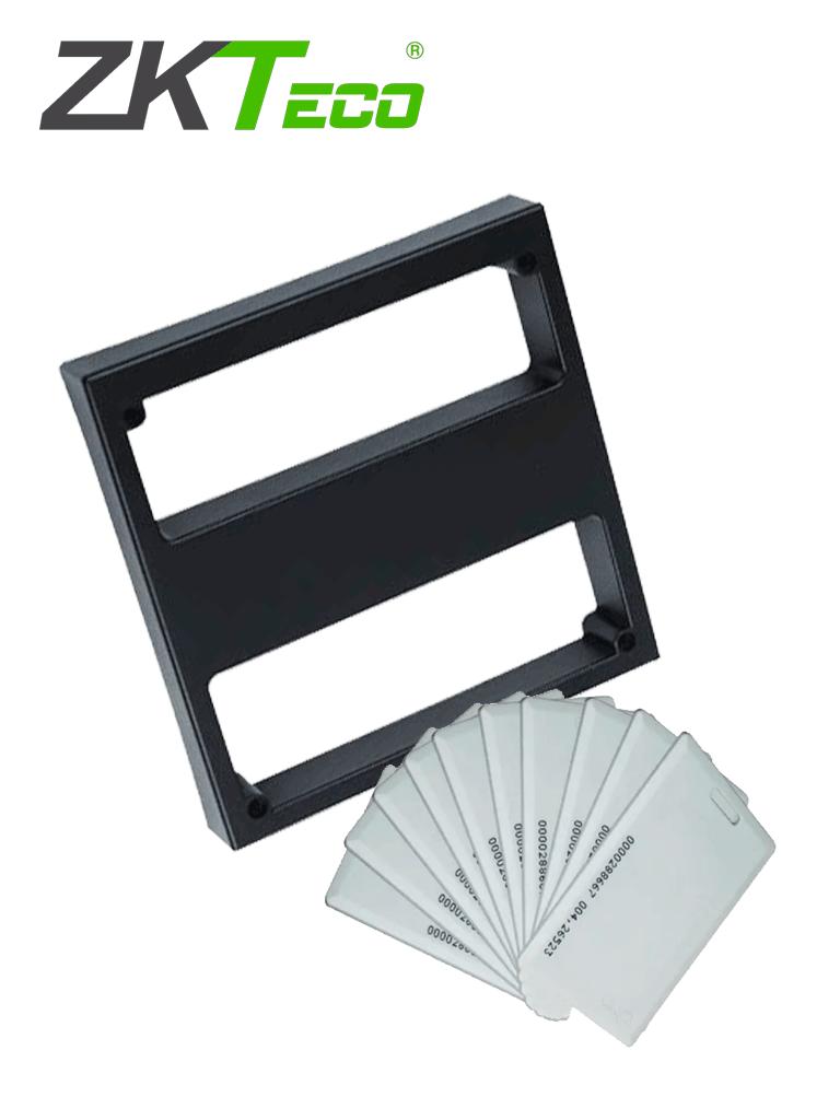 ZKTECO KR1000IDCARDPAK - Lector Esclavo de acceso vehicular con 20 tarjetas de proximidad ID de 125Khz tipo ClamShelltipo