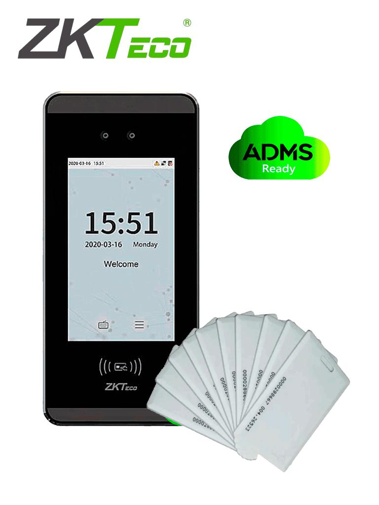 ZKTECO MINIACPLUSTARJETASPAK -   Control de Acceso y Asistencia Facial Visible Light  con 20 tarjetas de proximidad incluidas / ¡Paga 10 y llévate 10 GRATIS! / #TarjetasGratis