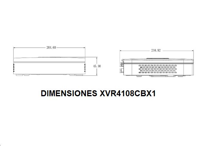 xvr4108cbx1DIMENSIONES