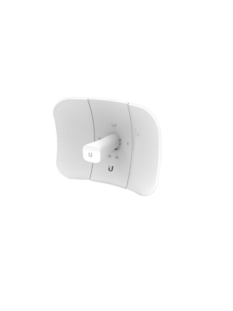 UBIQUITI LITEBEAM AC LBE5ACGEN2 - Radio con antena integrada Airmax AC GEN2 5.8GHz / Exterior / Antena 23 dBi / 25 dBm / Rendimiento hasta 450 Mbps