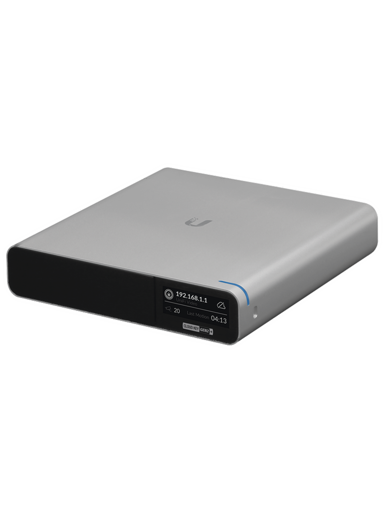 UBIQUITI UCKG2PLUS- Controlador UniFi Cloud Key / Procesador de 8 núcleos / 2GB RAM / 1TB Almacenamiento / Administración Unificada para 100 Equipos UniFi